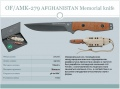 OF/AMK-279 AFGHANISTAN Memorial knife