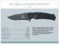 OF/CED-01S POCKET KNIVES M1